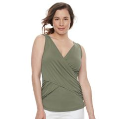 Maternity a:glow Twist Nursing Tank