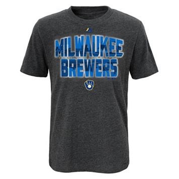 Boys 8-20 Majestic Milwaukee Brewers Big City Tee
