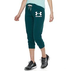 Women's Under Armour Favorite Fleece Graphic Capris