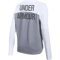 Women's' Under Armour Tri-Blend Long Sleeve Graphic Tee