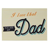 Belle Maison ''I Love You Dad'' Box Sign Art