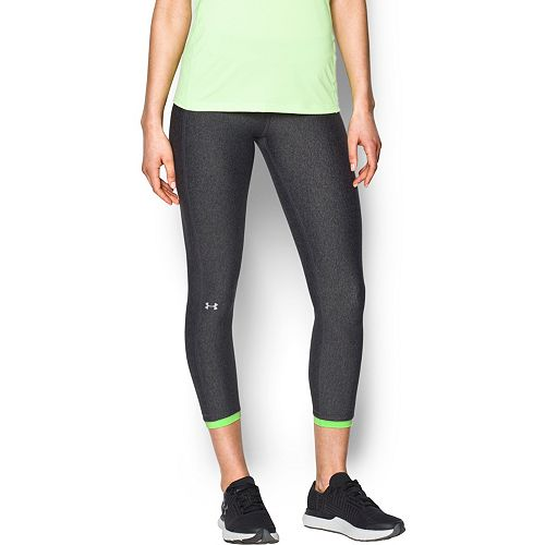 157c14b18fa9f Women's Under Armour HeatGear Midrise Ankle Crop Leggings