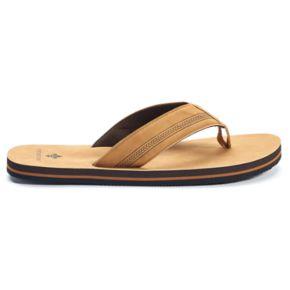 Men's Vintage Stone Baja Tan Flip-Flops