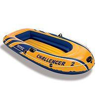 Intex Recreation Inflatable Challenger 2 Boat Set