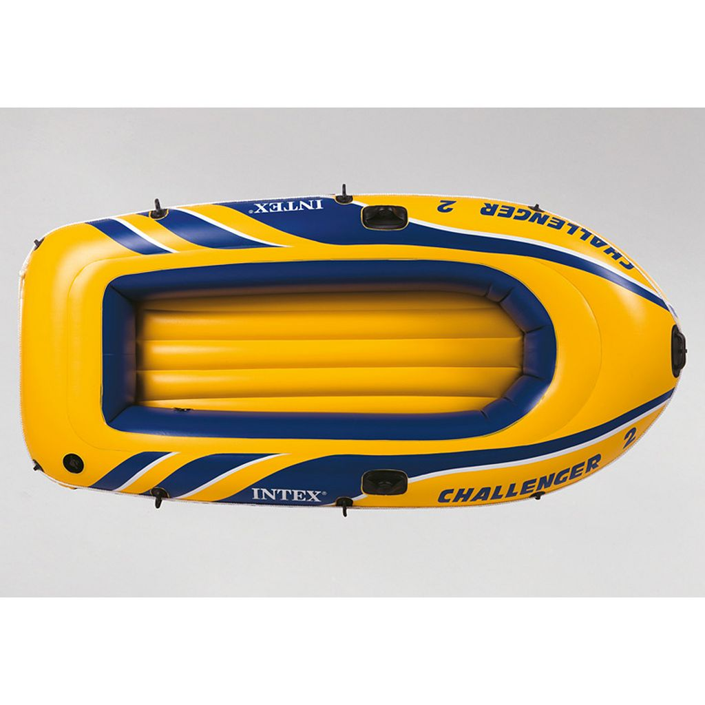 Intex Recreation Inflatable Challenger 2 Boat Set