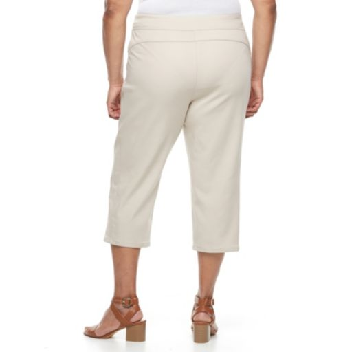 Plus Size Napa Valley Pull-On Capris