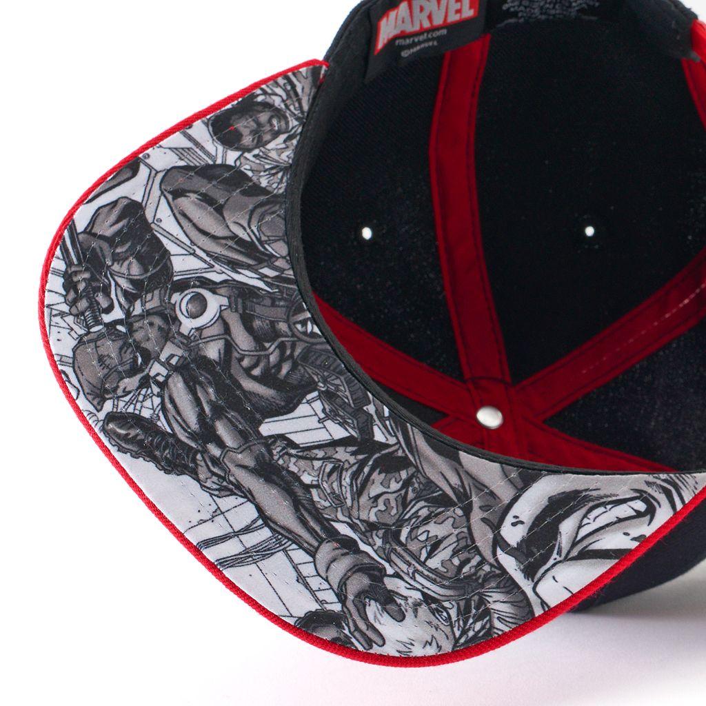 Men's Marvel Deadpool Snapback Cap
