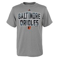 Boys 8-20 Majestic Baltimore Orioles Big City Tee