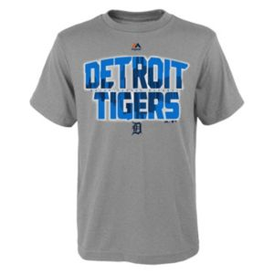 Boys 8-20 Majestic Detroit Tigers Big City Tee