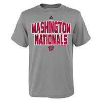 Boys 8-20 Majestic Washington Nationals Big City Tee