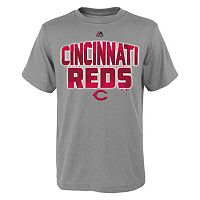 Boys 8-20 Majestic Cincinnati Reds Big City Tee