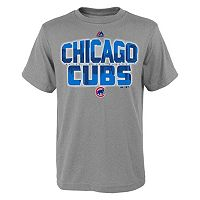 Boys 8-20 Majestic Chicago Cubs Big City Tee