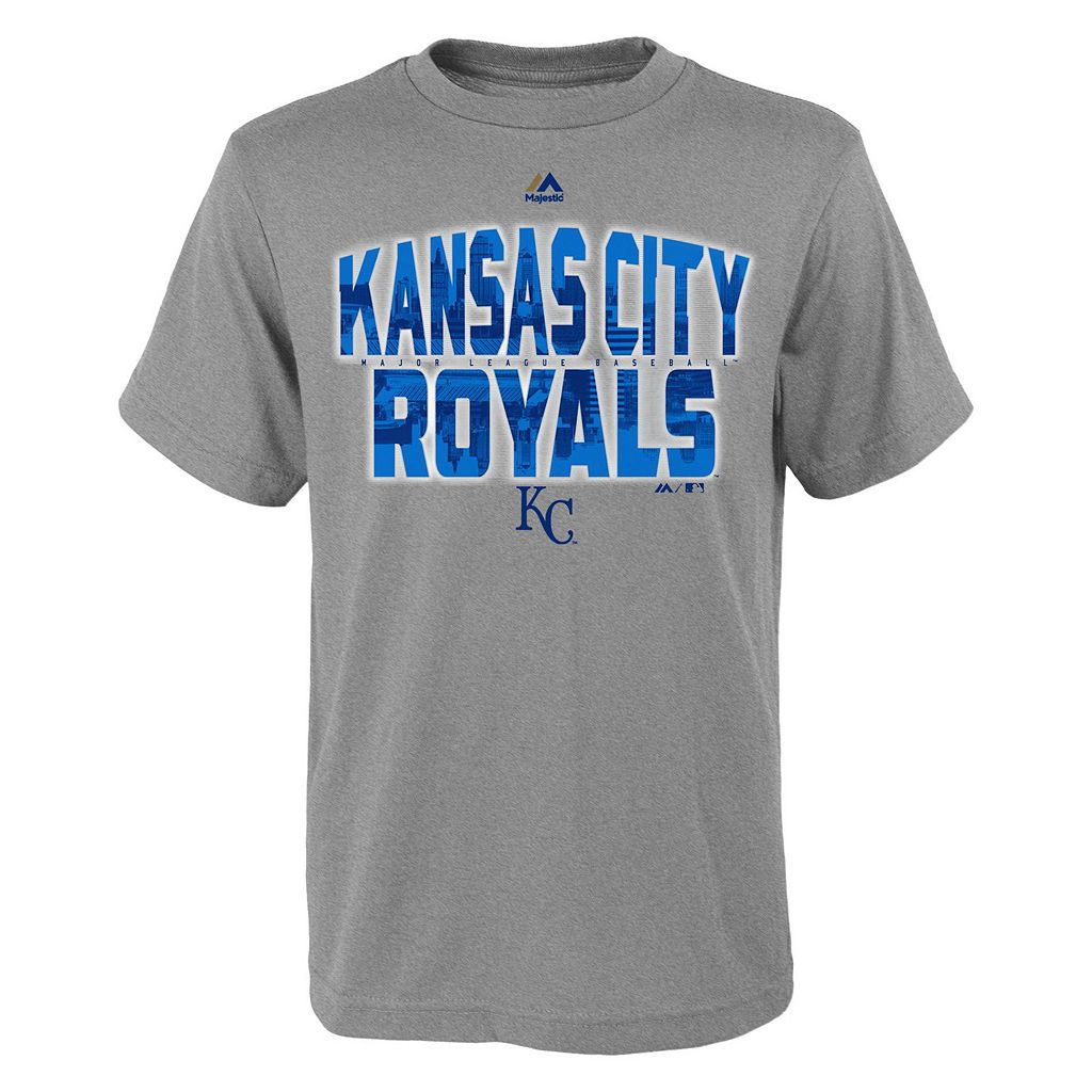 Boys 8-20 Majestic Kansas City Royals Big City Tee