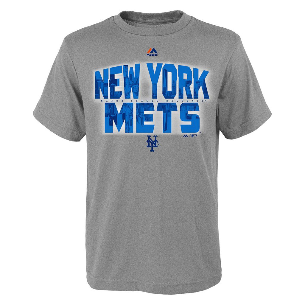 Boys 8-20 Majestic New York Mets Big City Tee