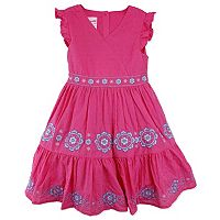 Girls 4-6x Nanette Swiss Dot Dress