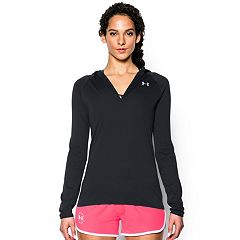 Women's Under Armour Tech Solid Hooded Long Sleeve Top