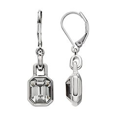 Simply Vera Vera Wang Simulated Crystal Nickel Free Drop Earrings
