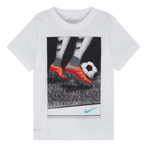 Boys 4-7 Nike Soccer Cleats Tagless Graphic Tee