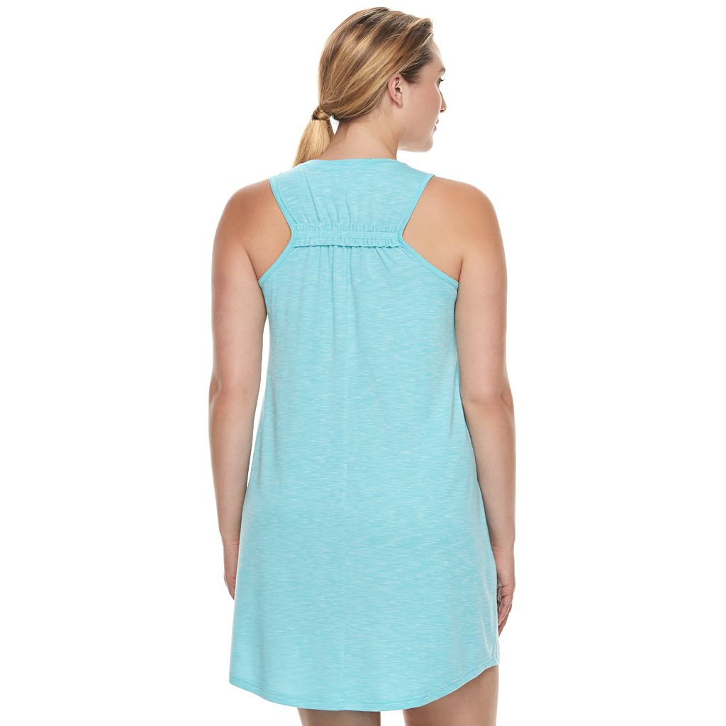 Plus Size Tek Gear® Pocket Ruched-Back Dress