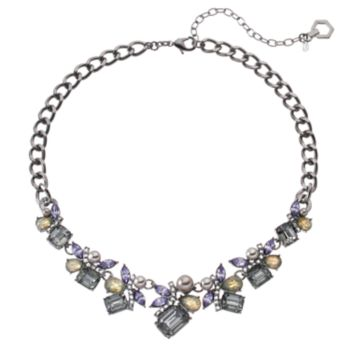 Simply Vera Vera Wang Stone Cluster Statement Necklace