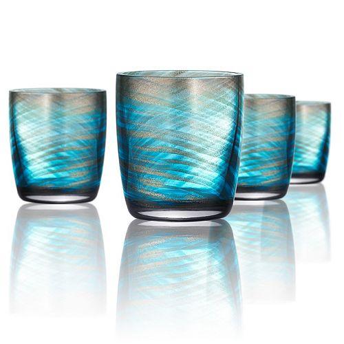 Artland Misty 4-pc. Double Old-Fashioned Glass Set