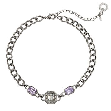 Simply Vera Vera Wang Octagonal Link Choker Necklace