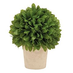 Artificial Leafy Plant Table Decor