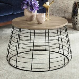 Safavieh Round Metal Coffee Table