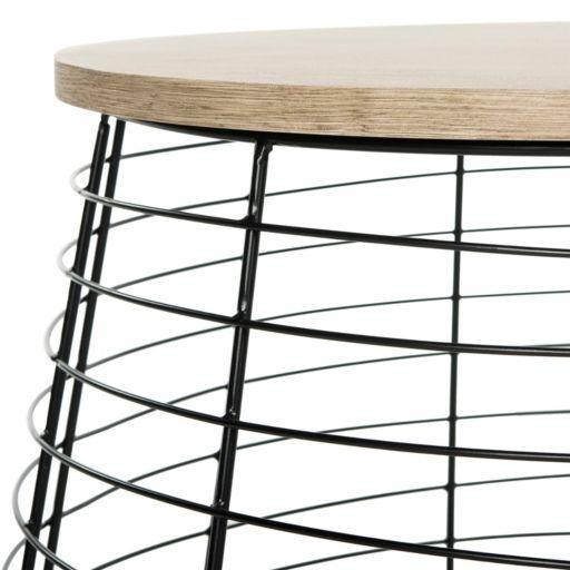 Safavieh Round Metal Coffee Table