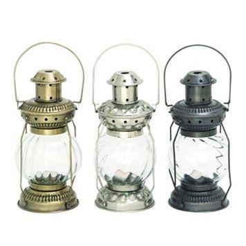 Rustic Reflections Lantern Decor 3-piece Set