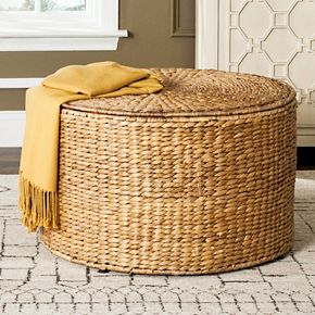 Safavieh Jesse Wicker Storage Coffee Table
