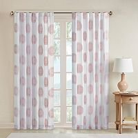 Madison Park Othello Clipped Medallion Curtain