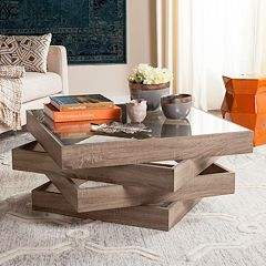 Safavieh Contemporary Geometric Coffee Table