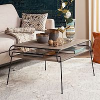 Safavieh Mid-Century Modern 2-Tier Coffee Table