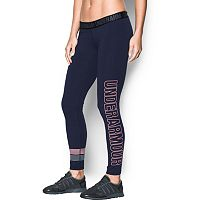 Women's Under Armour Favorite Wordmark Graphic Leggings
