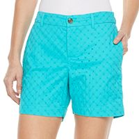 Petite Croft & Barrow® Novelty Shorts