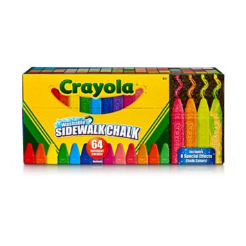 Crayola 64-pc. Ultimate Washable Chalk Collection
