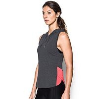 Women's Under Armour Favorite Mesh Sleeveless Hoodie