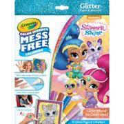 Shimmer & Shine Crayola Color Wonder Glitter Set