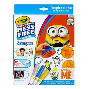 Despicable Me Crayola Color Wonder Stampers Set