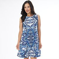 Women's AB Studio Scroll Shift Dress