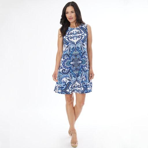 Women's AB Studio Scroll Shift Dress