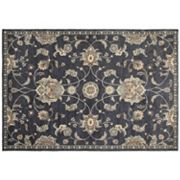 StyleHaven Portia Traditional Floral Framed Rug