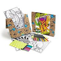 Crayola Art with Edge Naturescapes Coloring Kit