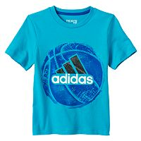 Toddler Boy adidas Spray Paint Sports Graphic Tee