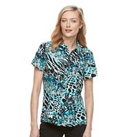 Women's Dana Buchman Pleated Blouse