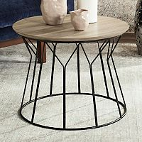 Safavieh Retro Contemporary Round End Table