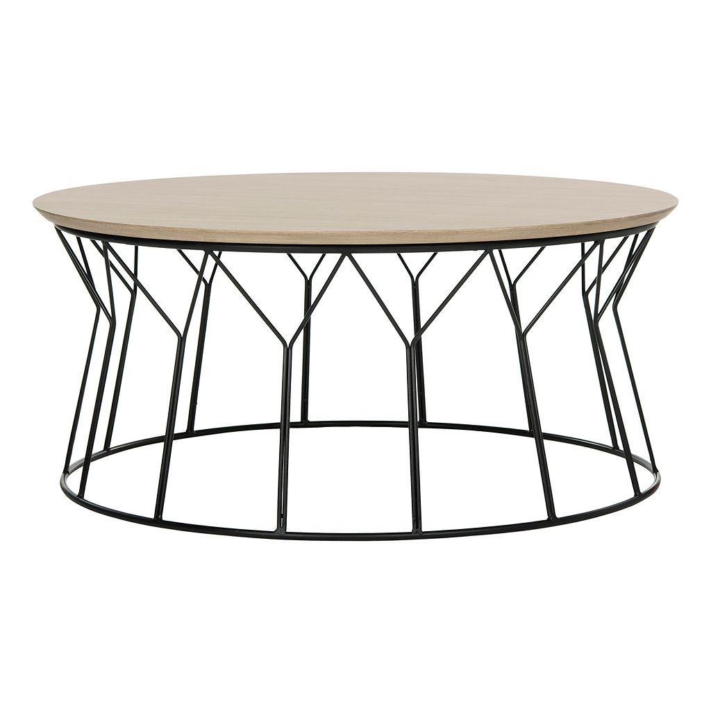 Safavieh Mid-Century Modern Iron Coffee Table