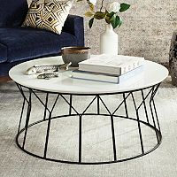 Safavieh Mid-Century Round Coffee Table