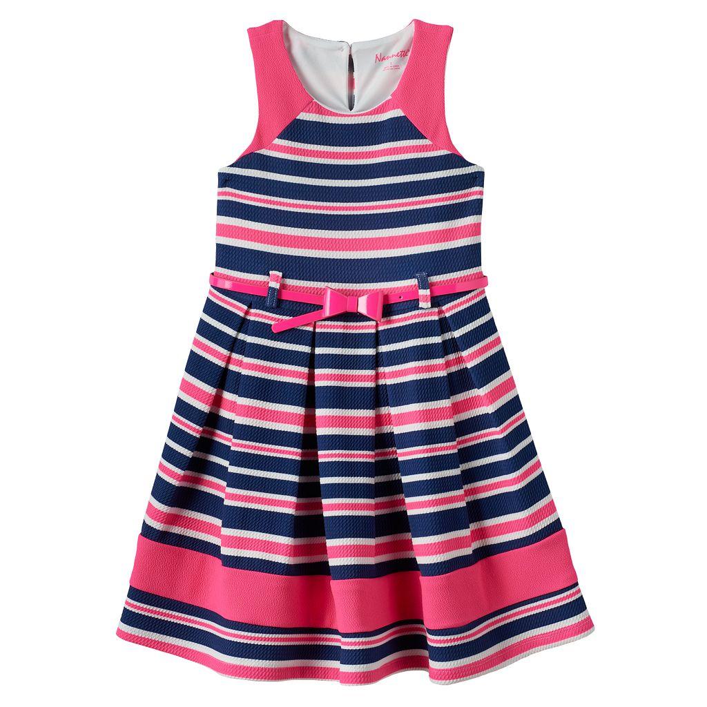 Girls 4-6x Nanette Sleeveless Striped Dress